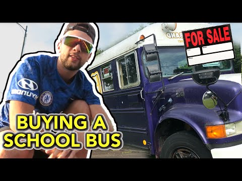 We are BUYING a SCHOOL BUS… (Here's Why)