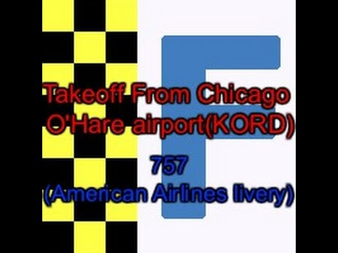 FlightGear Takeoff from Chicago O'Hare International Airport (KORD)