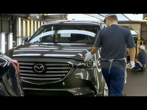 Mazda Prodaction At Ujina Plant, Hiroshima