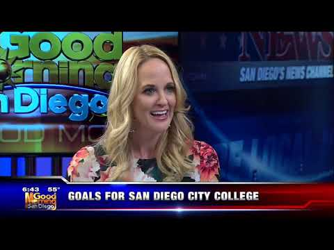 KUSI-SD: Goals for San Diego City College with Dr. Shabazz