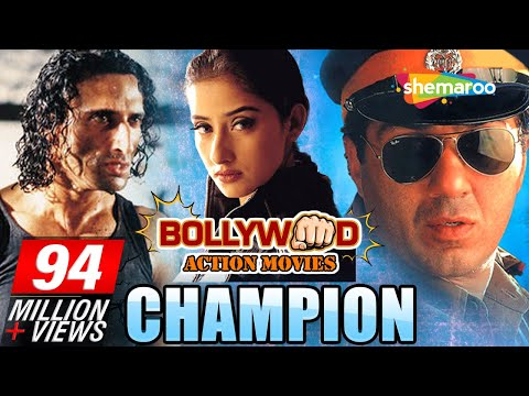 Champion {HD} - Sunny Deol - Manisha Koirala - Superhit Hindi Movie - (With Eng Subtitles)