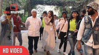 Soha Ali Khan Spotted at Mehboob Studio | Viralbollywood
