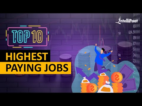 Top 10 Highest Paying Jobs In 2020 | Highest Paying IT Jobs 2020 | Intellipaat