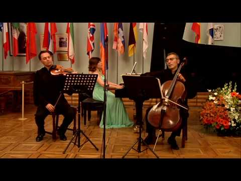"""King Matt/Luxembourg Garden/Schubertango"" performed by Khachaturian Trio"