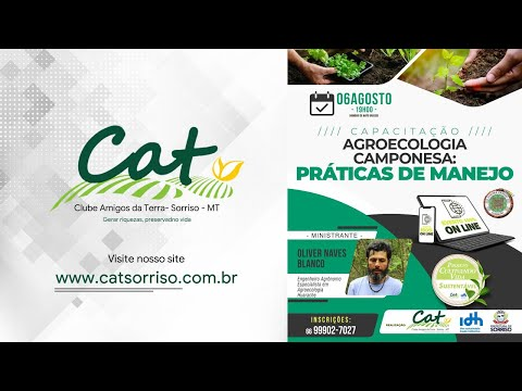 Projeto Cultivando Vida Sustentável - Agroecologia Camponesa #PRÁTICASDEMANEJO