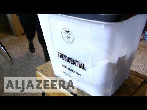 Kenya's election commission calls for calm