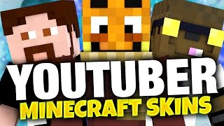 YOUTUBER AM MINECRAFT SKIN ERRATEN