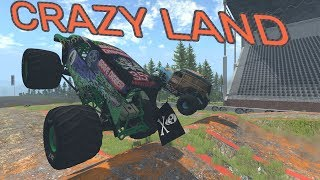 CRAZY LAND! - BeamNG.drive