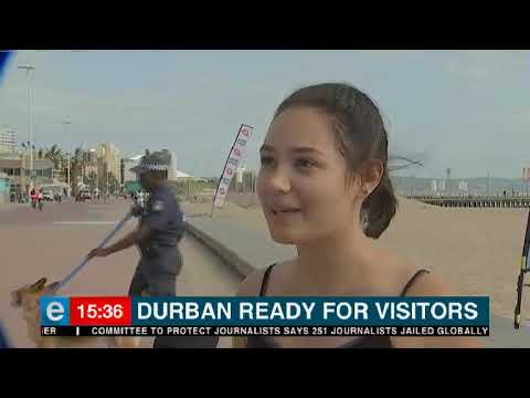 The safety of visitors to Durban's famous beaches is guaranteed