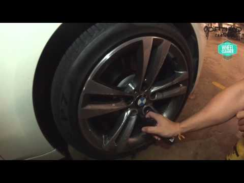 Optimo Wheel Cleaner on BMW rim