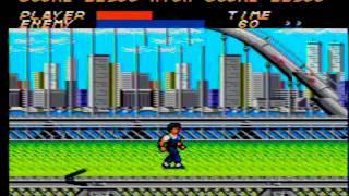 Vigilante Sega Master System (Full Game)