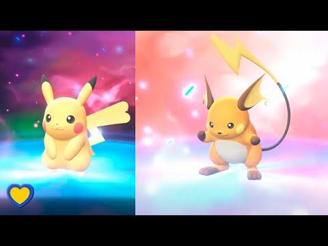 HOW TO Evolve Pikachu Into Raichu In Pokémon Let's Go Pikachu & Eevee