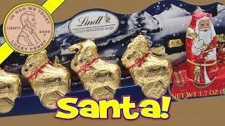 Lindt Gold Reindeer Sleigh Chocolates....i Save Santa!