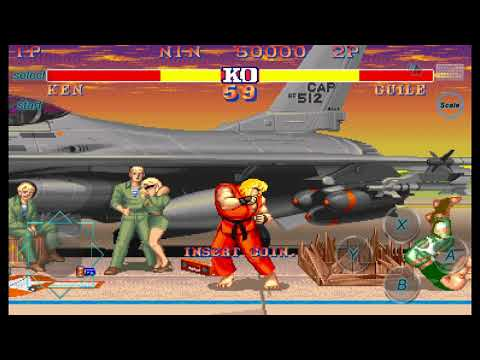 Street Fighter - A Classic Arcade Fighting Game