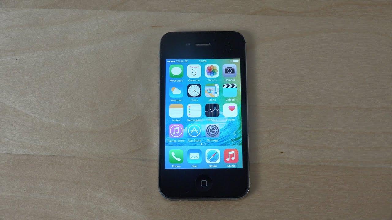 Iphone 4s ios 9