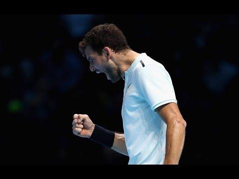 Grigor Dimitrov Wins ATP London 2017 Finals In Three Set Victory Over David Goffin