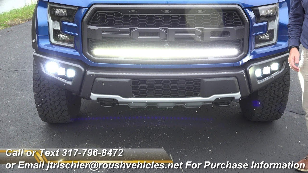 2018 Ford F 150 Raptor Custom Led Light Bar Fogs 18 17 2017