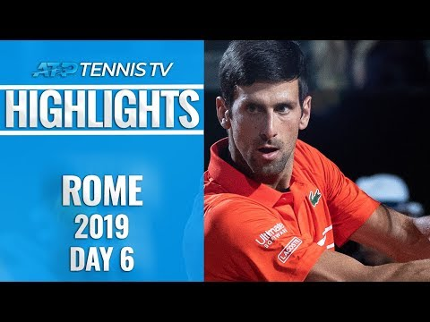 Djokovic Survives Del Potro Epic; Nadal, Schwartzman Into Semis | Rome 2019 Quarter-Final Highlights