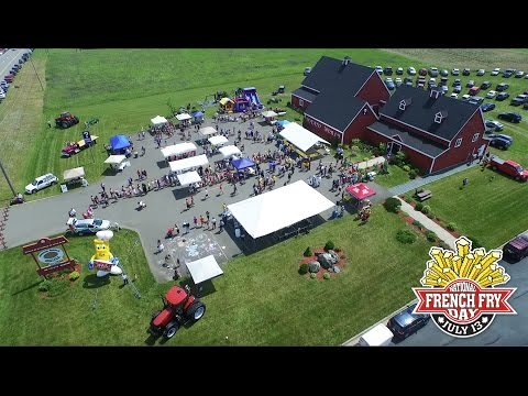 National French Fry Day in Florenceville-Bristol, New Brunswick