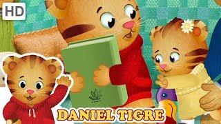 Daniel Tigre em Português - Meu Lugar Especial para Ler | Vídeos para Crianças