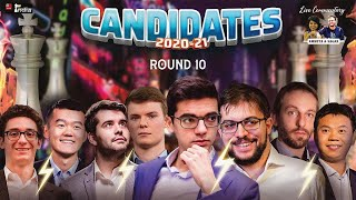 Candidates 2020-21 Round 10 | Live commentary by Sagar, Amruta