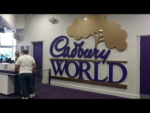 Cadbury World Chocolate Movie, Birmingham 2017 featuring Cadabra The Ride !