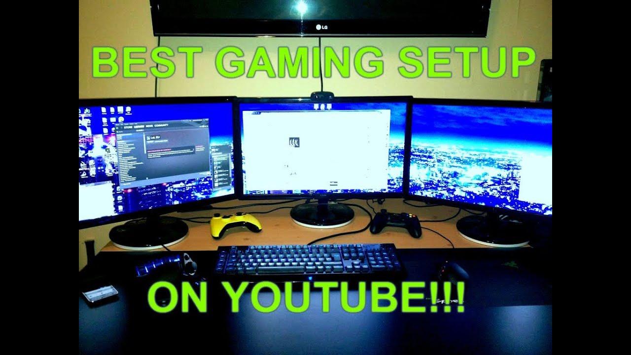 BEST GAMING SETUP ON YOUTUBE!!! (EXTREME) - YouTube