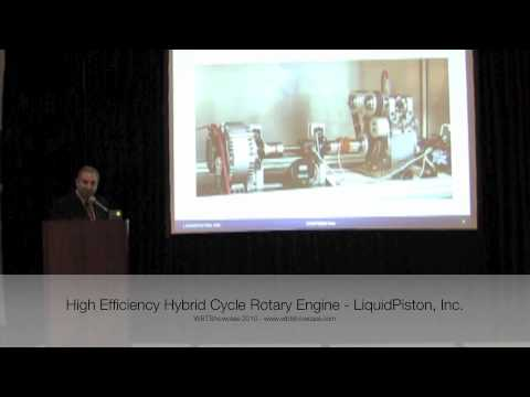 High Efficiency Hybrid Cycle Rotary Engine - WBTShowcase 2010