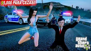 MURAT POLİS ÇEVİRMESİNE YAKALANDI(EHLİYETİ KAPTIRDI!) - GTA 5 MURAT'IN HAYATI