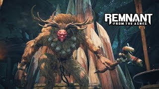 Remnant: From The Ashes - Totem Father Boss Fight | PC Gameplay