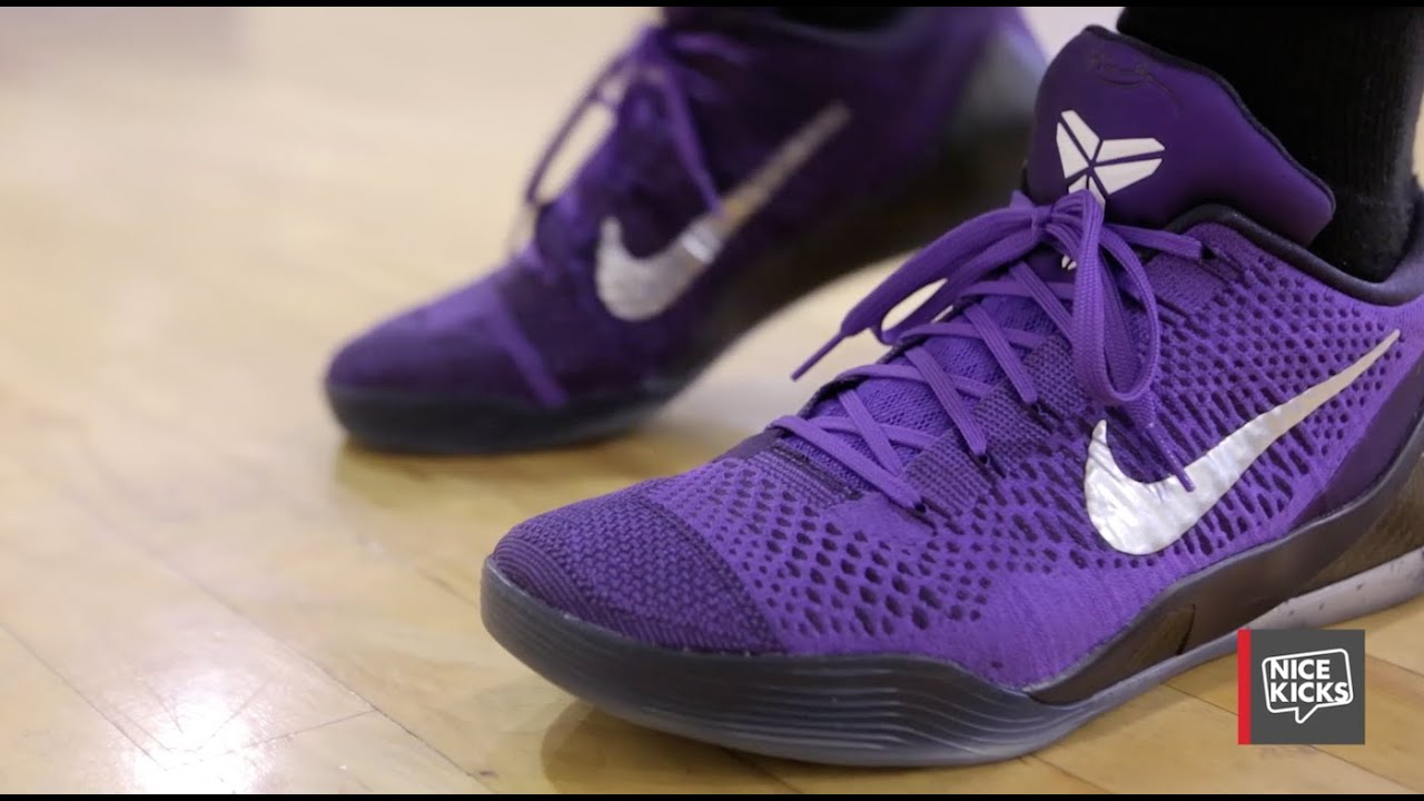 buy online 03fdf 60d63 Nike Kobe 9 Elite Low Performance Review