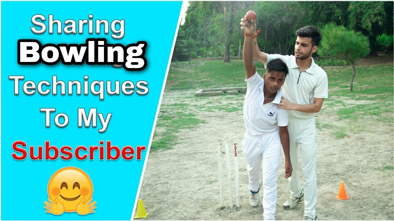Learn To Bowl Like a Pro With GAUTAM YADAV !! Bowling Tips for Beginners