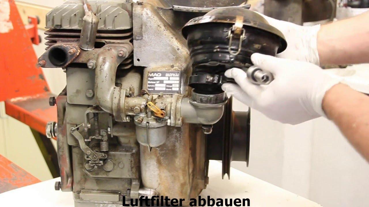 Motor Revision Motorblock Motor Berholung Mag 1045 Youtube