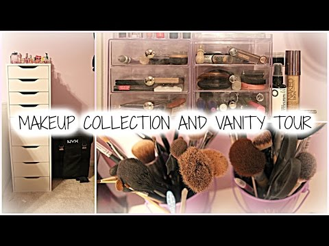 MAKEUP COLLECTION AND VANITY TOUR 2015