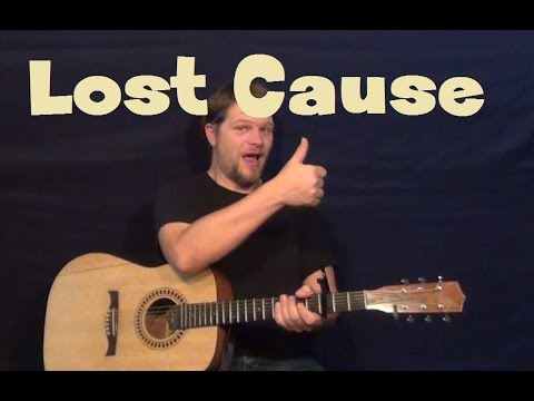 Lost Cause Beck Easy Strum Guitar Lesson Fingerstyle How To Play