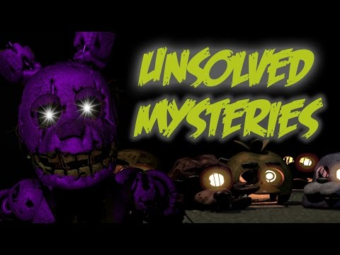 The Unsolved Mysteries in Five Nights at Freddy's