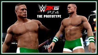 "WWE 2K15 PS4/XB1 : John Cena ""The Prototype"" Entrance (OVW 2001) - Superstar Studio"