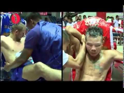 Myanmar Lethwei - Soe Lin Oo ( Myanmar ) vs Artur Saladiak ( Poland ) - Rematch