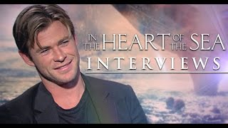 in the heart of the sea interviews feat chris hemsworth and ron howard