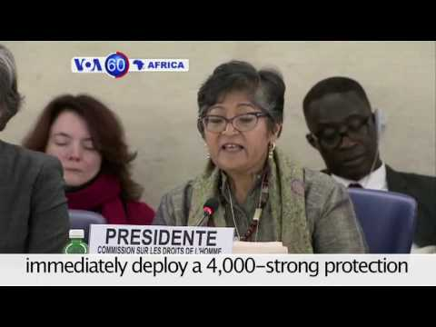 The U.N. human rights commission warns of genocide in South Sudan - VOA60 Africa 12-14-2016