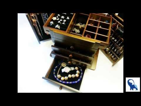 European Style Luxury Wooden Jewelry Box/Jewelry Storage/Jewelry Cabinet/Armoire