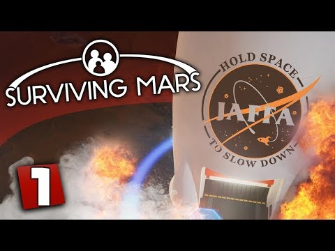 Surviving Mars #1 - Sipsco Space Program