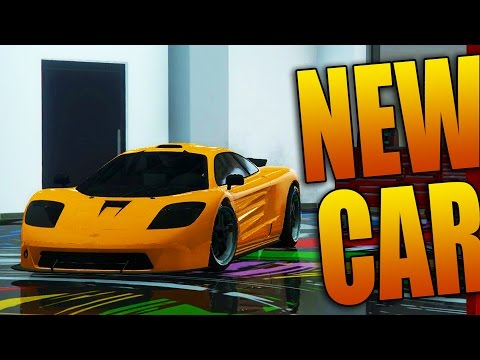 Grand Theft Auto 5 Multiplayer - NEW PROGEN GP1 SUPER CAR (McLaren F1 LM Remake)