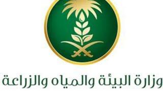 وظائف وزارة البيئة و المياه و الزراعة  السعودية . الشروط و التفاصيل