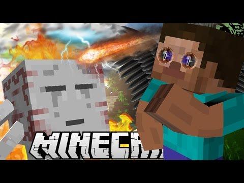 Minecraft mody! NOWE UMIEJĘTNOŚCI | POWER UPS MOD