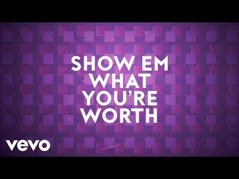 Mandisa - What You're Worth (Lyric Video) ft. Britt Nicole