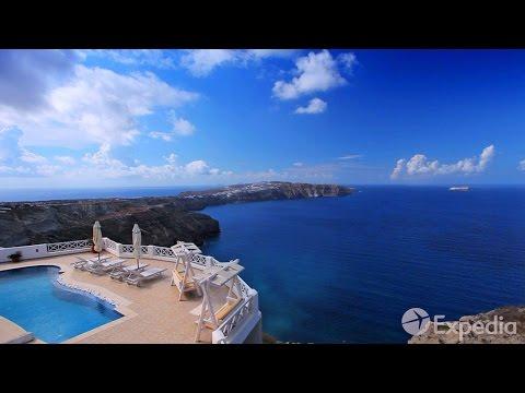 Paquete turístico y viaje exótico a Santorini