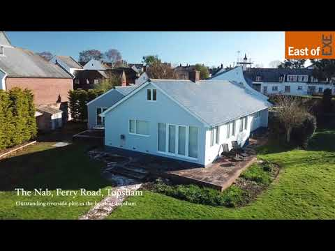 The Nab, Ferry Road, Topsham  Waterside property for sale