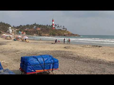 The way to Kovalam Beach Trivandrum | The best holiday destination | Kerala Tourism