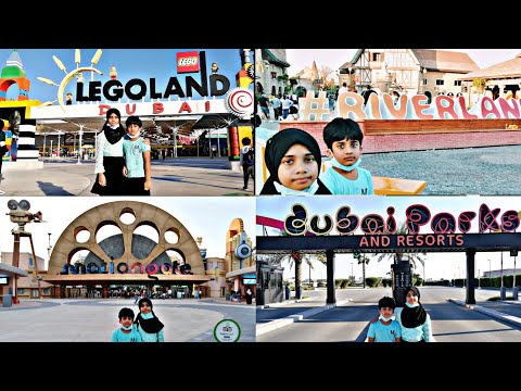 Dubai parks and resorts | Riverland | motiongate | Legoland | bollywood park | Legoland water park